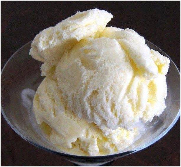 Resep Vanilla Ice Cream