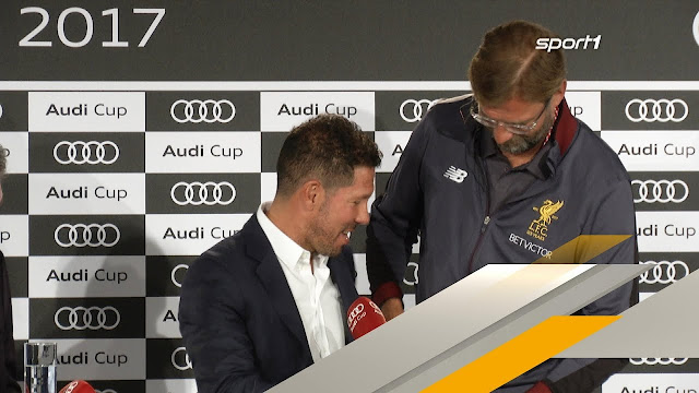 I respect Diego Simeone a lot - Jürgen Klopp