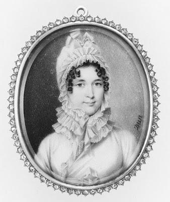 Portrait of a Woman, said to be Madame Récamier  by Nicolas François Dun c1812-14