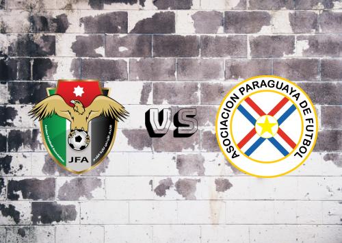 Jordania vs Paraguay  Resumen