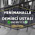 Ankara Yenimahalle Demirci Merdiven Demiri - Ferforje Demir - Balkon Demiri - Bahçe Demiri