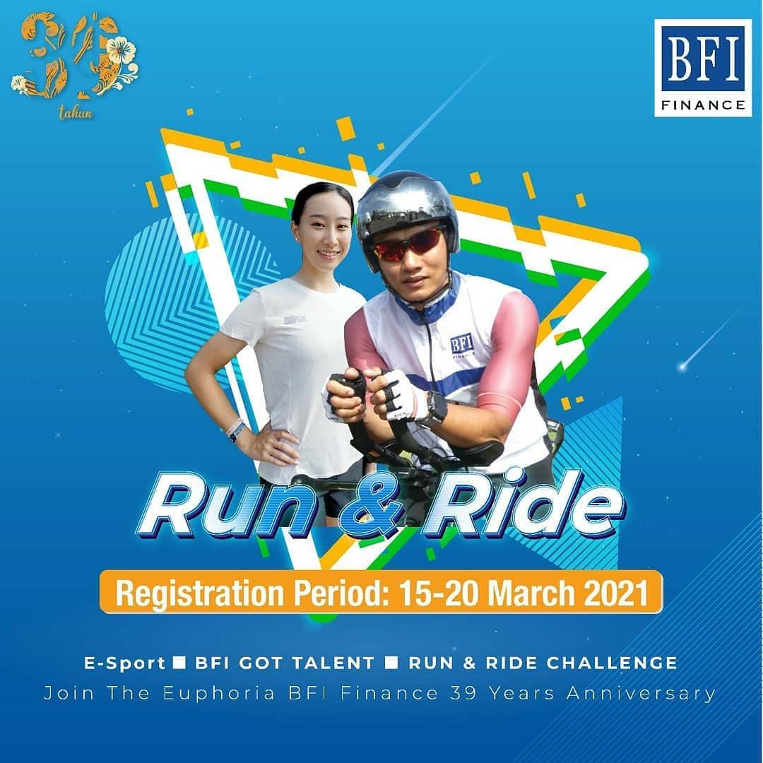 BFI Run & Ride Challenge • 2021