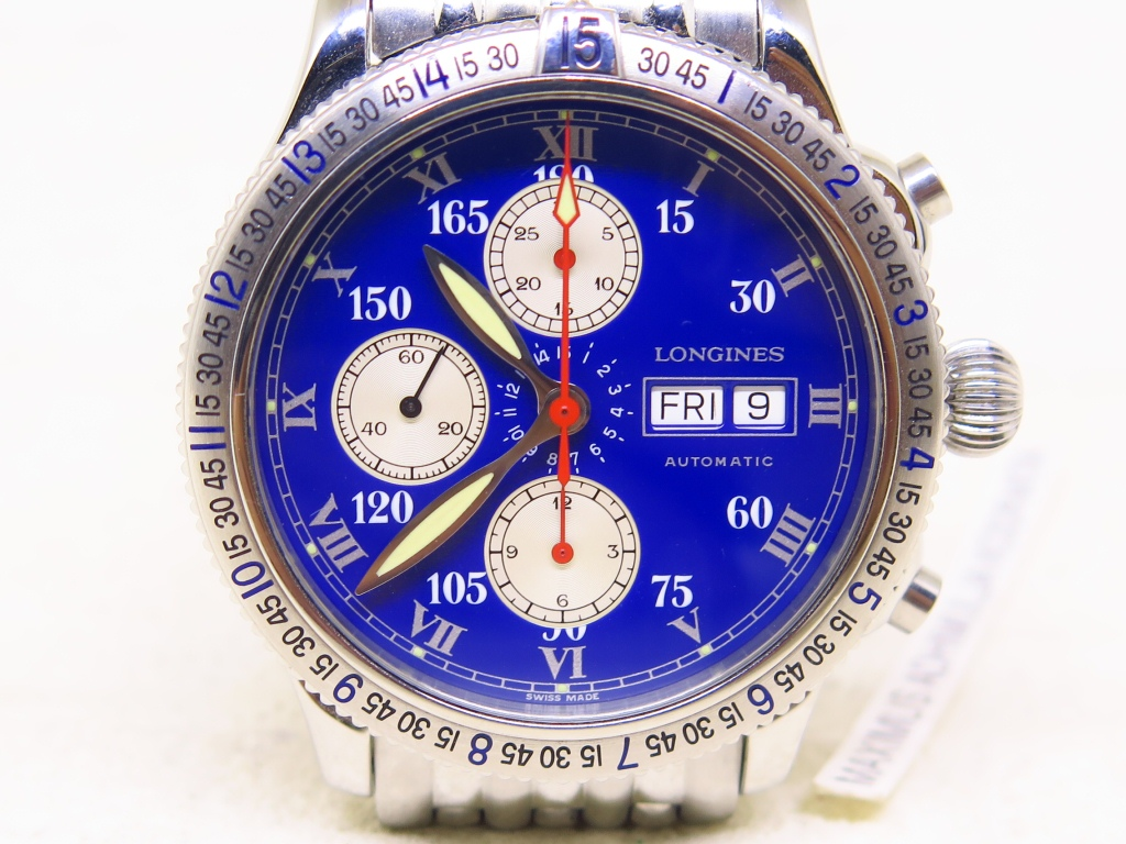 LONGINES CHRONOGRAPH BLUE DIAL SPECIAL SERIES - AUTOMATIC