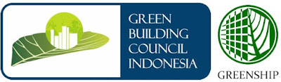 Logo Green Building Council Indonesia dan Greenship