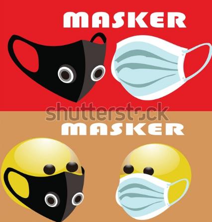 illustration free mask