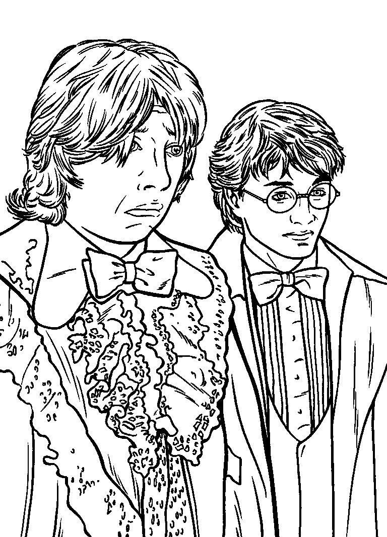 Ausmalbilder Harry Potter Und Der Halbblutprinz