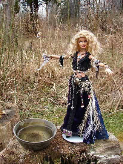 Twistianity Today: The Ancient Goddess Barbi: Historical ...Witch Of Life Outfit