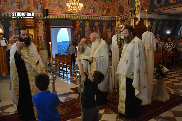 Αργολίδα: Γιόρτασαν τους Αγίους Κωνσταντίνο και Ελένη στο Μάνεσι