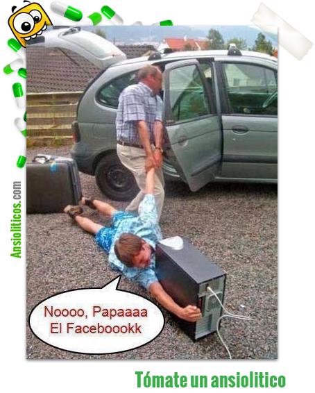 Chiste de Facebook: Al salir de viaje