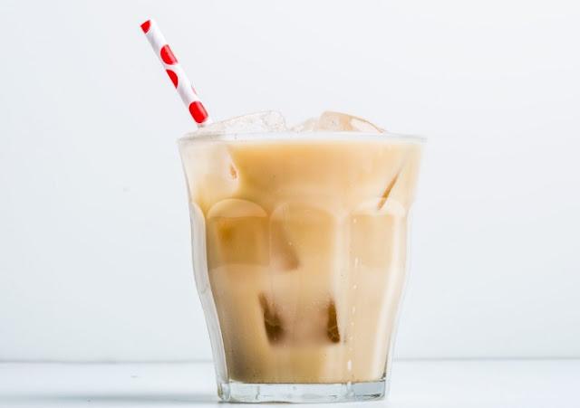 Iced Horchata Latte #drinks #latte