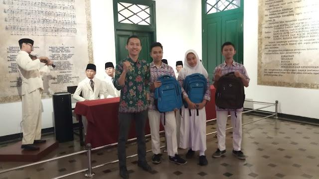 dialog museum sumpah pemuda SMAN 110 Jakarta