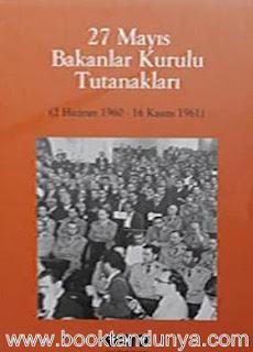 Cemil Koçak - 27 Mayıs Bakanlar Kurulu Tutanakları