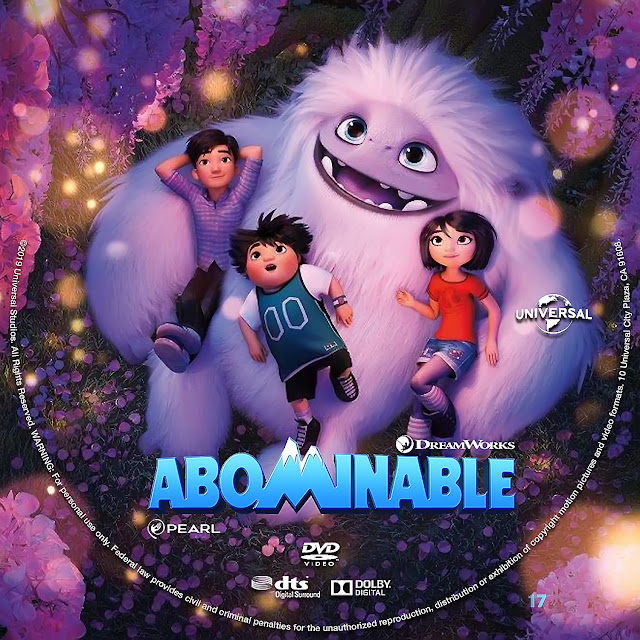 Abominable DVD Label