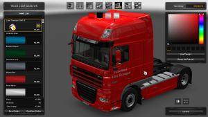 DAF XF Lider Transport Skin