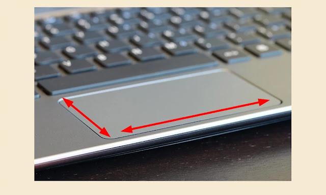 cara menggunakan touchpad notebook
