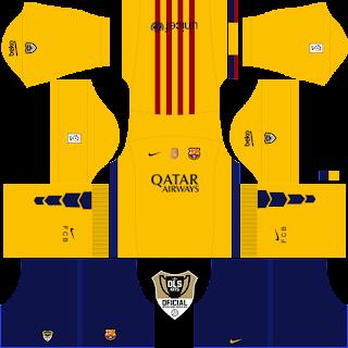 timnas kit jersey dls barcelona