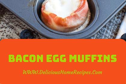 Bacon Egg Muffins #christmas #breakfast