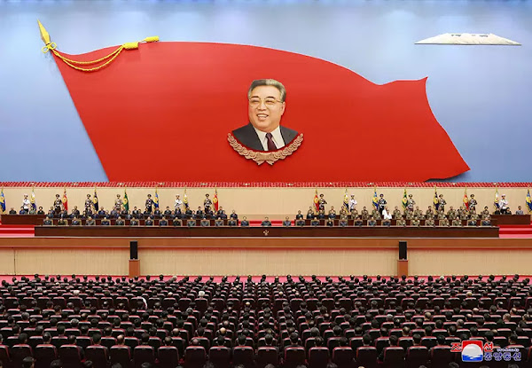 Kim Jong Un at National Memorial Service Held on 25th Anniversary of President Kim Il Sung's Demise, July 8, 2019