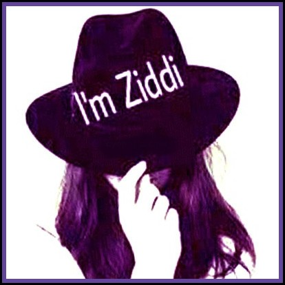 i am ziddi girl stylish dp