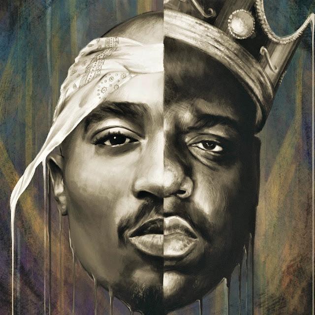 Hip Hop Universe (Tupac Shakur & Biggie Smalls / West Coast vs East Coast)