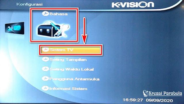 Aspek Rasio K Vision Bromo C1000