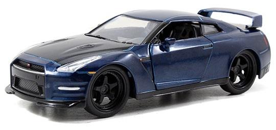 coleccion rapido y furioso, coleccion rapido y furioso jada tyos, coleccion rapido y furioso 1/32, Brian's Nissan GT-R (R35)