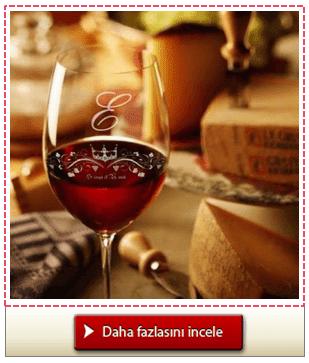 Kişiye Özel Şarap Kadehi