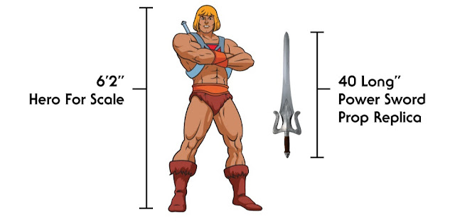 Factory Entertainment Masters Of The Universe Real-World Power Sword