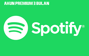 Jual Akun Spotify Premium 3 Bulan - Streaming Musik, Podcast, dan Video