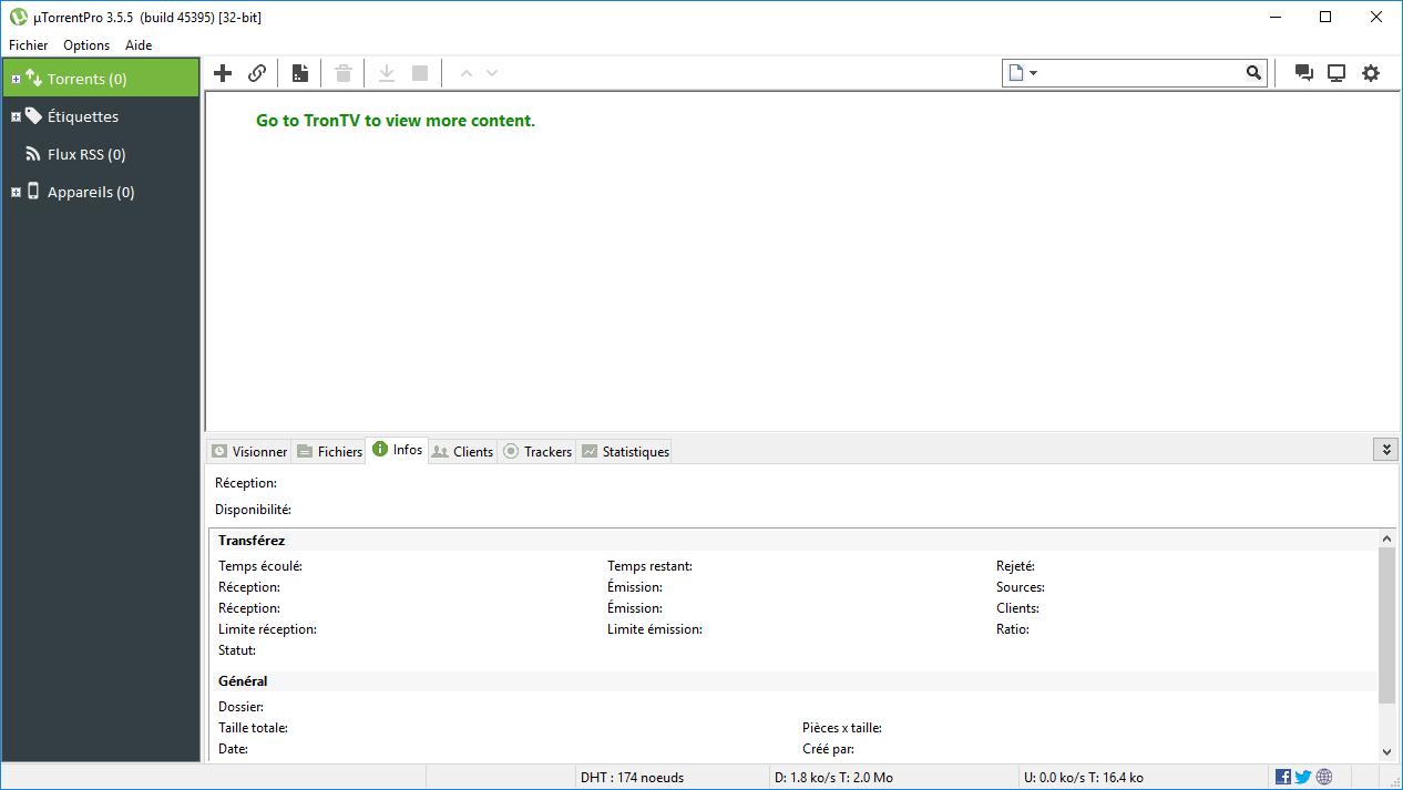 تحميل برنامج uTorrent Pro 3.5.5 Build 45395 أقوى برامج في العالم وأكثرها شهرةً
