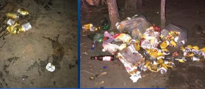 Chapada: Vale do Cercado é tomado por lixo após o último final de semana