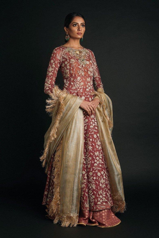 Zara Shahjahan Pakistani Bridal Gown with Price