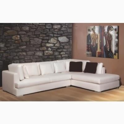 Λευκό σαλόνι γωνία από την Epiplonet