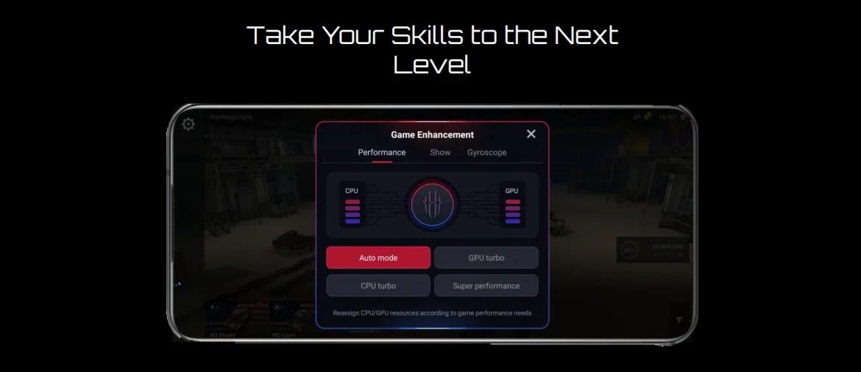 كيف تستفيد من خصائص الـ Gaming Experience في هاتف RedMagic 6R