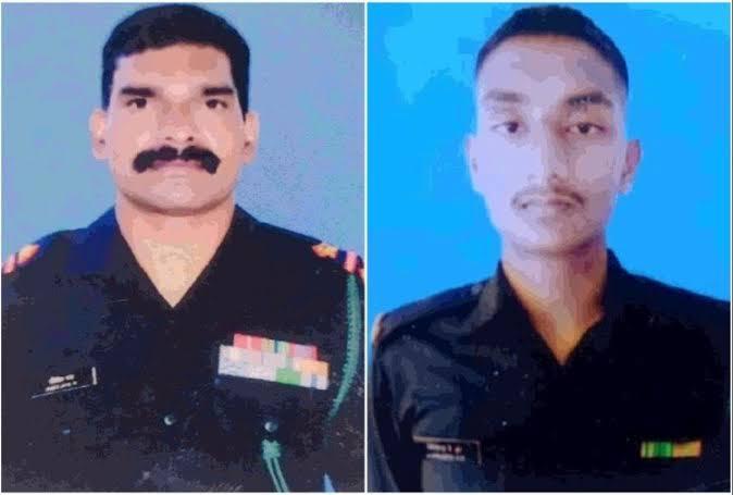 Jammu Kashmir : सुंदरबनी में सेना और आतंकियों के बीच मुठभेड़ , 2 जवान शहीद ,