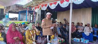 Kunker Bupati Kotabaru ke Desa Rampa Cengal
