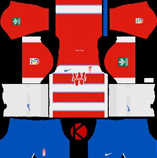 Granada CF 2019/2020 Kit - Dream League Soccer Kits