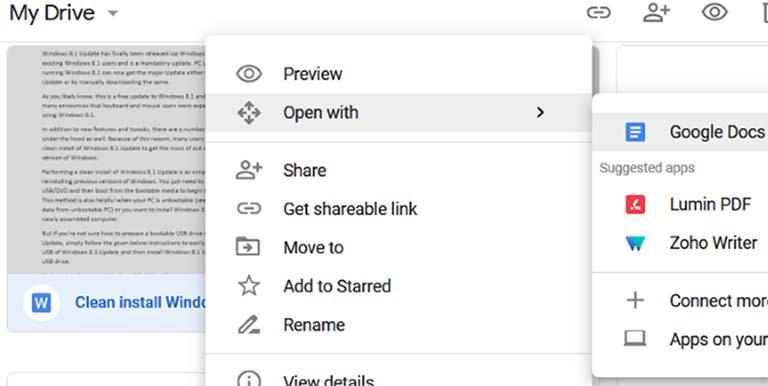 Cara Buka Dokumen Office Word Docx Menggunakan Google Documents Fajrinfo