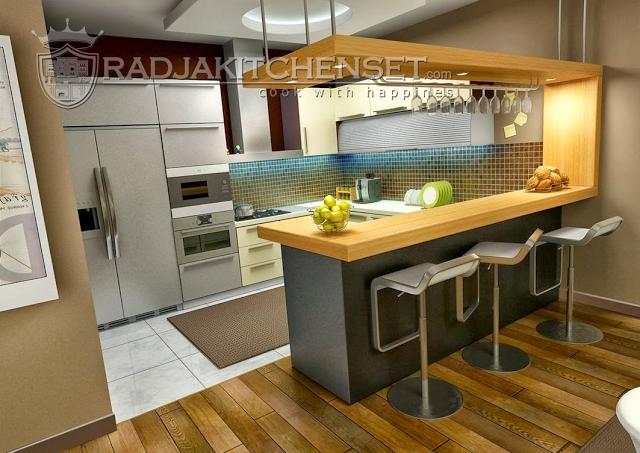 Kitchen Set Aluminium Di Bsd Radja Kitchen Set 0813 8942 4220