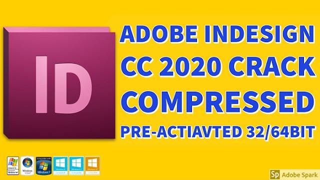 Adobe Indesign CC 2020 Full Crack Compressed Pre-activated