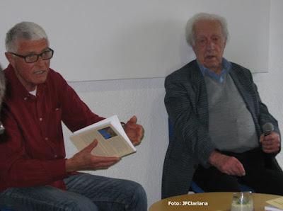Robert Lleonart, de la CEAH, i Jaume Lladó. Foto: Joan Francesc Clariana.