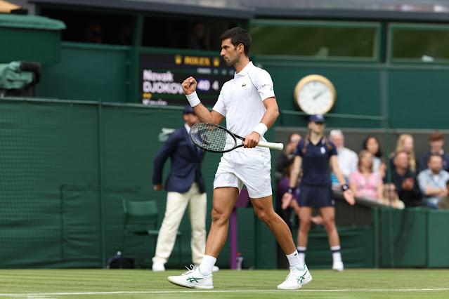 Novak Djokovic não deu chances para Kevin Anderson na reedição da final de 2018 em Wimbledon