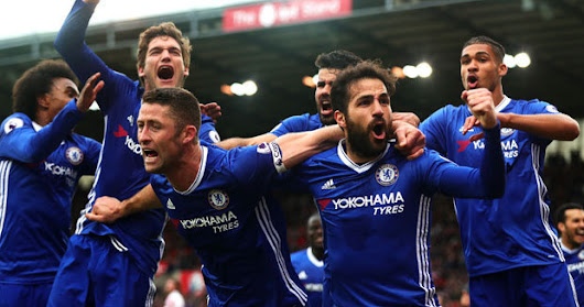 Mafiaodds.com: Chelsea step towards the PL title after beating Stoke City 2-1 at the Bet365 Stadium