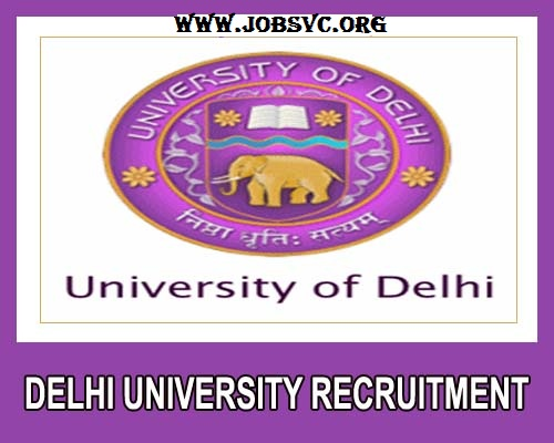 Delhi University Recruitment (2019) - 691 Vacancies for Associate Prof