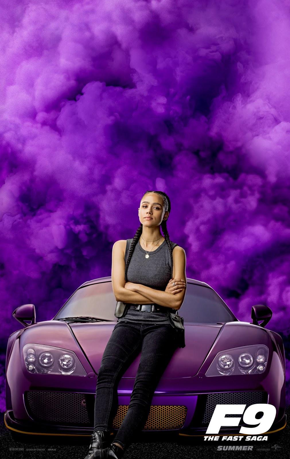 Nathalie Emmanuel - Fast and Furious 9