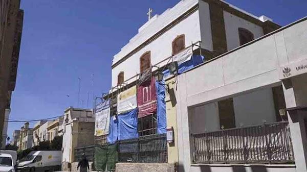 La rehabilitación de la iglesia castrense de Cádiz encara su recta final
