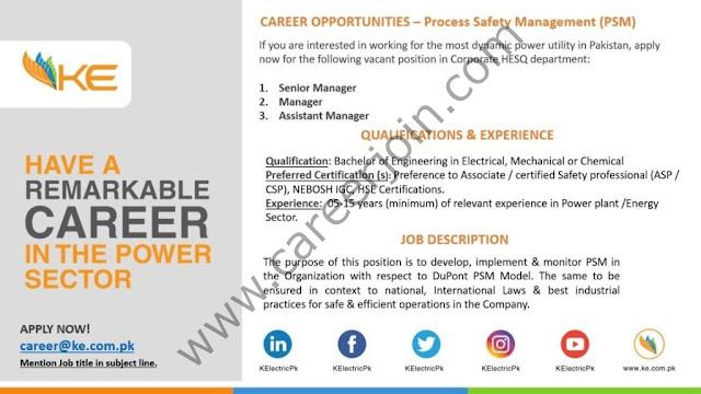 K-Electric Jobs June 2021