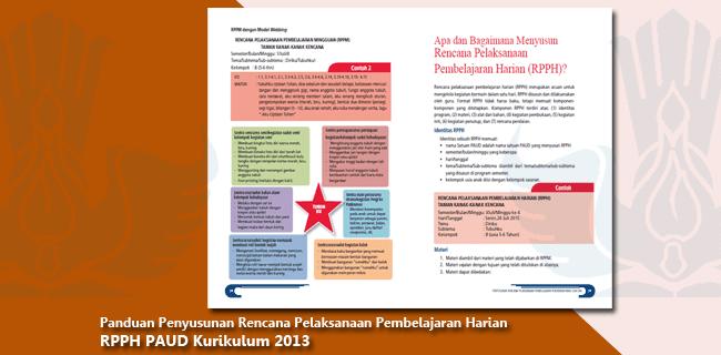 Panduan Penyusunan RPPH PAUD Kurikulum 2013