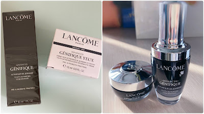 >>管理你的肌膚微生態*Lancôme Génifique 升級版嫩肌活膚精華(小黑瓶)&全新升級版嫩肌活膚眼霜 (發光眼霜)