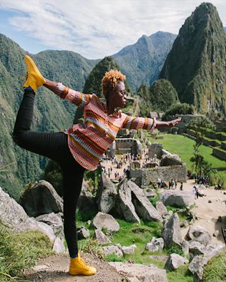 Fotos creativas en Machu Picchu